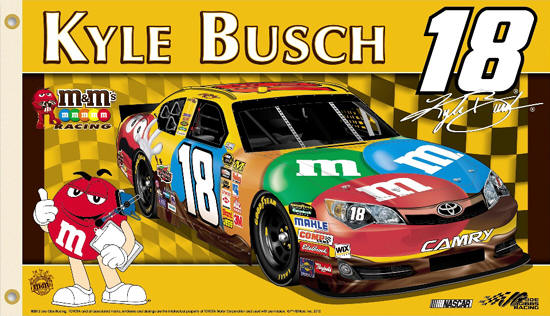 kyle busch nascar coloring pages printable circuit